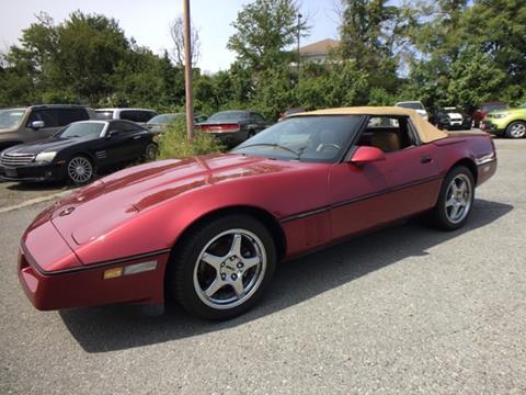 1990 Chevrolet Corvette for sale in Laurel, MD