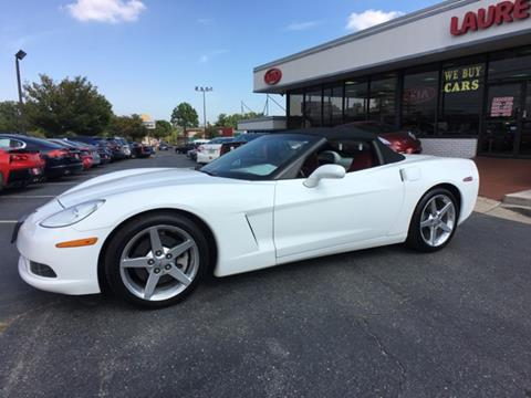 used 2005 chevrolet corvette for sale in maryland. Black Bedroom Furniture Sets. Home Design Ideas
