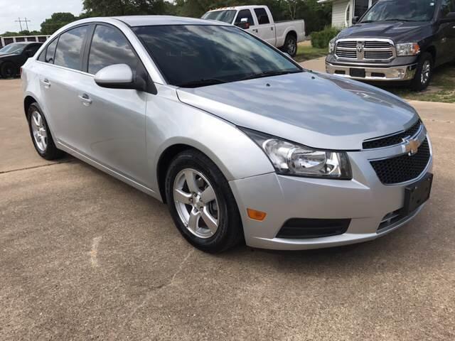 2012 Chevrolet Cruze for sale at Premier Motor Company in Bryan TX