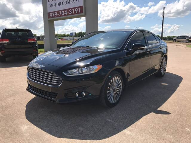 2016 Ford Fusion for sale at Premier Motor Company in Bryan TX