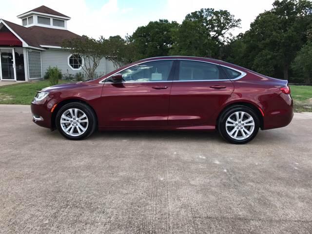 2015 Chrysler 200 for sale at Premier Motor Company in Bryan TX