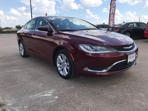 2015 Chrysler 200 for sale at Premier Motor Company in Bryan TX