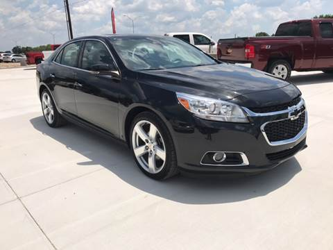 2015 Chevrolet Malibu for sale at Premier Motor Company in Bryan TX