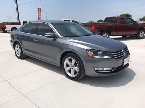 2015 Volkswagen Passat for sale at Premier Motor Company in Bryan TX