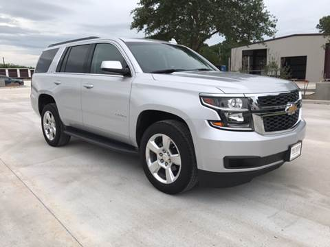 2015 Chevrolet Tahoe for sale at Premier Motor Company in Bryan TX