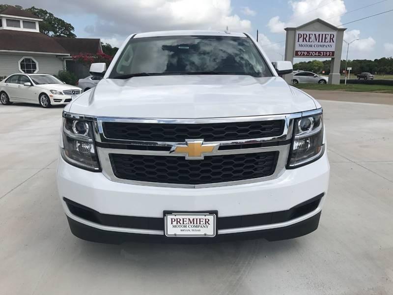 2017 Chevrolet Tahoe for sale at Premier Motor Company in Bryan TX