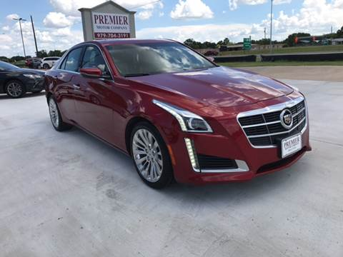 2014 Cadillac CTS for sale at Premier Motor Company in Bryan TX