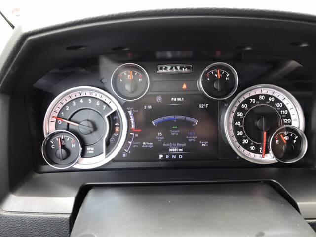 2015 RAM Ram Pickup 1500 for sale at Premier Motor Company in Bryan TX