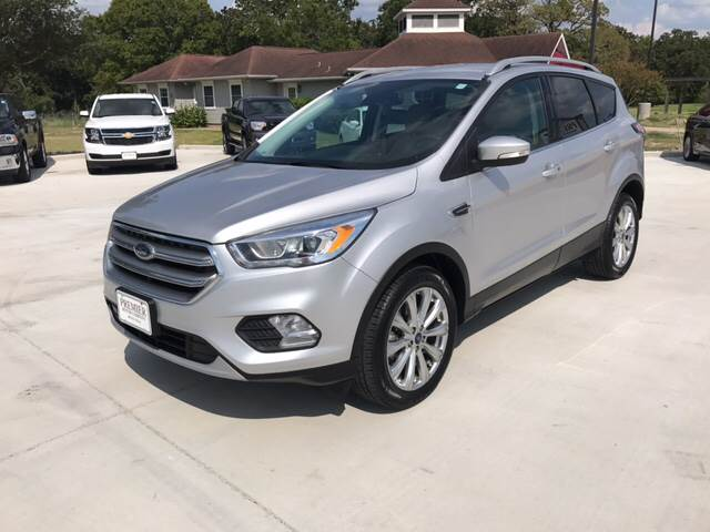2017 Ford Escape for sale at Premier Motor Company in Bryan TX