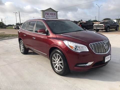 2015 Buick Enclave for sale at Premier Motor Company in Bryan TX