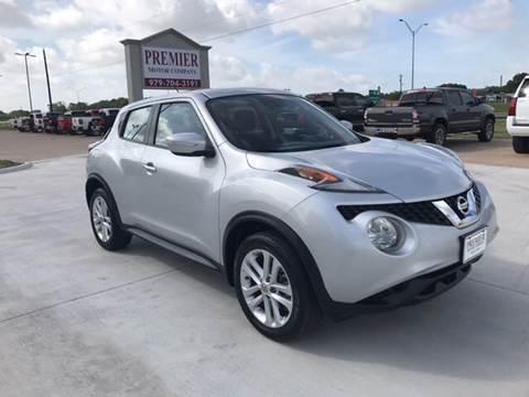 2016 Nissan JUKE for sale at Premier Motor Company in Bryan TX