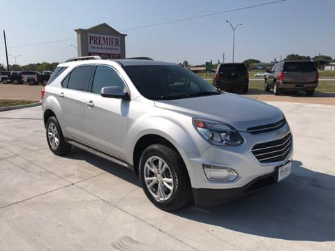 2016 Chevrolet Equinox for sale at Premier Motor Company in Bryan TX