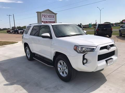 2014 Toyota 4Runner for sale at Premier Motor Company in Bryan TX