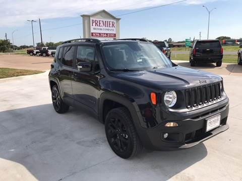2016 Jeep Renegade for sale at Premier Motor Company in Bryan TX
