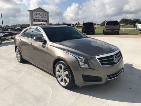 2014 Cadillac ATS for sale at Premier Motor Company in Bryan TX
