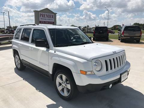 2016 Jeep Patriot for sale at Premier Motor Company in Bryan TX
