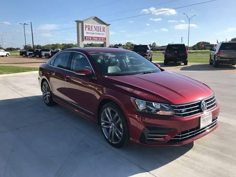2016 Volkswagen Passat for sale at Premier Motor Company in Bryan TX