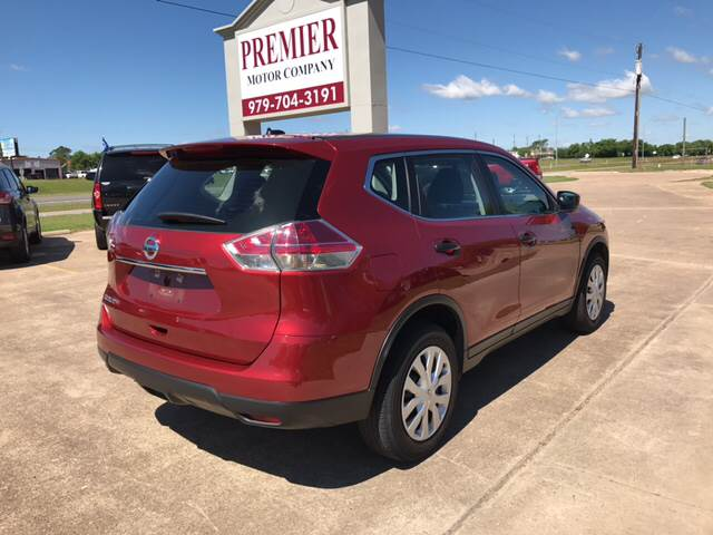 2016 Nissan Rogue for sale at Premier Motor Company in Bryan TX