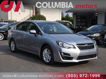2016 Subaru Impreza for sale in Portland, OR