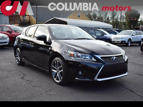 2014 Lexus CT 200h for sale in Portland, OR