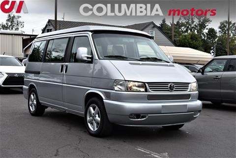 2002 Volkswagen EuroVan for sale in Portland, OR