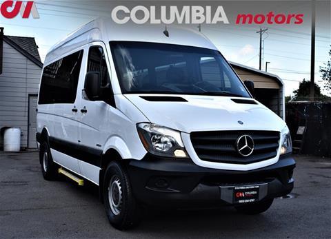 18 Passenger Van >> 2014 Mercedes Benz Sprinter Passenger For Sale In Portland Or