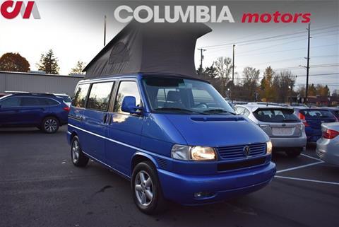2002 Volkswagen EuroVan for sale in Portland, OR