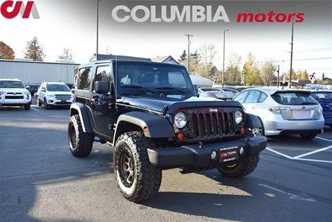 2013 Jeep Wrangler for sale in Portland, OR