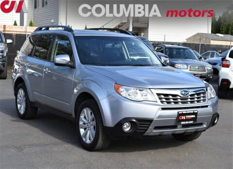 2013 Subaru Forester 2.5X Limited for sale at Columbia Motors in Portland OR