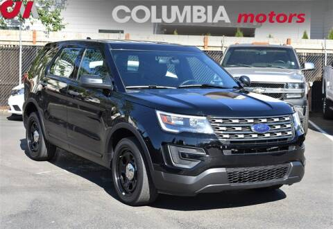 2017 Ford Explorer Police Interceptor for sale at Columbia Motors in Portland OR