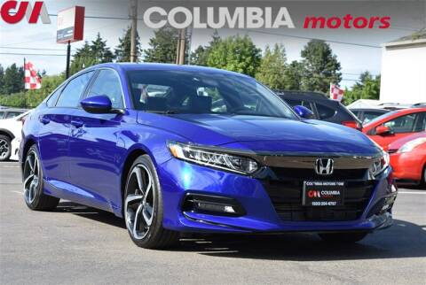 2019 Honda Accord Sport for sale at Columbia Motors in Portland OR