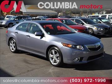 2013 Acura TSX for sale in Portland, OR