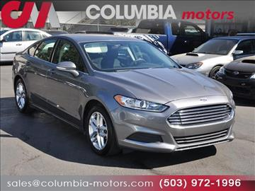 2013 Ford Fusion for sale in Portland, OR