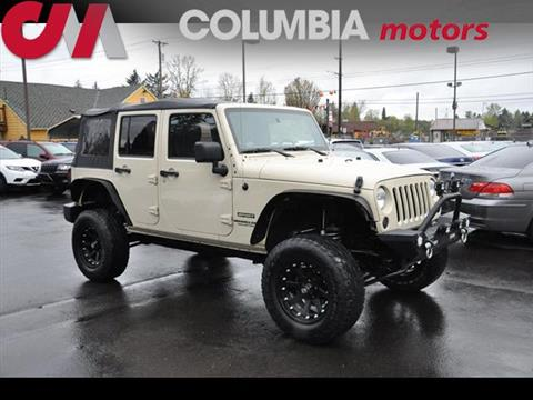 2011 Jeep Wrangler Unlimited for sale in Portland, OR