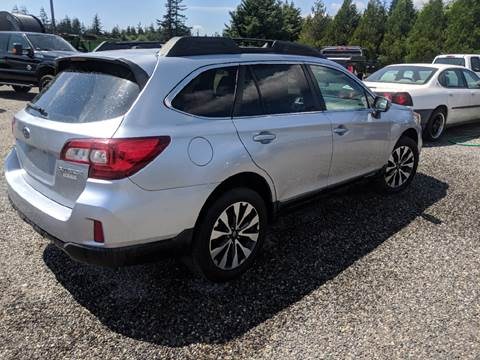 2015 Subaru Outback For Sale >> Subaru Outback For Sale In Lynden Wa Dave Riddle Wholesale