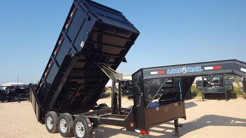 "2018 Load Trail 83""x 14' Gooseneck Dump Triple"