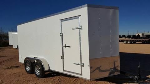 2018 Cross 7 x 16 Enclosed Cargo