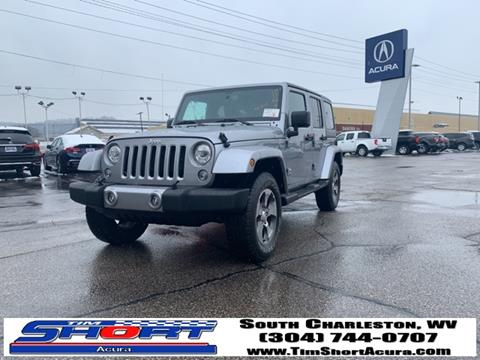 2018 Jeep Wrangler Unlimited for sale in Charleston, WV