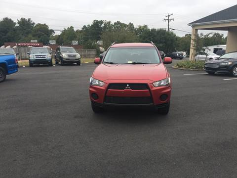 2010 Mitsubishi Outlander for sale in Fredericksburg, VA
