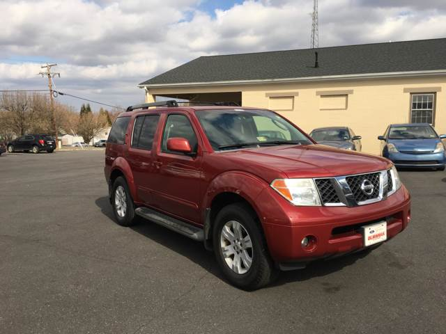 2005 Nissan Pathfinder For Sale At Peruvian Auto Sales Inc In  Fredericksburg VA