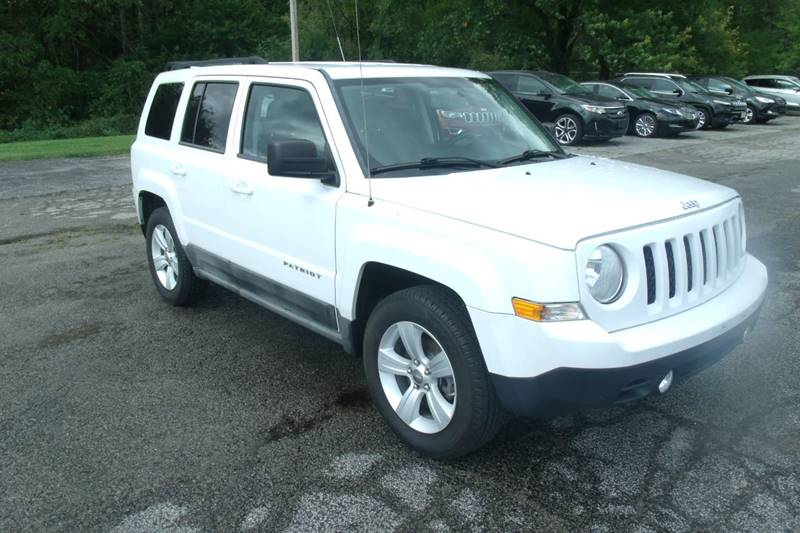 jeep patriot 2011 tire size