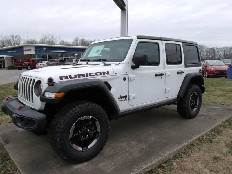2018 jeep wrangler unlimited 4x4 rubicon 4dr suv (midyear release) - carmi  il