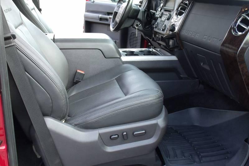 2016 Ford F-250 Super Duty 4x4 Platinum 4dr Crew Cab 6.8 ft. SB Pickup - Carmi IL