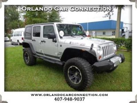 2010 Jeep Wrangler Unlimited for sale in Winter Garden, FL