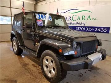 2013 jeep wrangler for sale in bloomsburg pa. Cars Review. Best American Auto & Cars Review