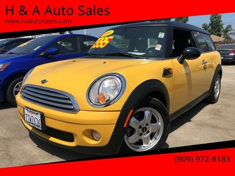 Mini Used Cars Financing For Sale Ontario H A Auto Sales