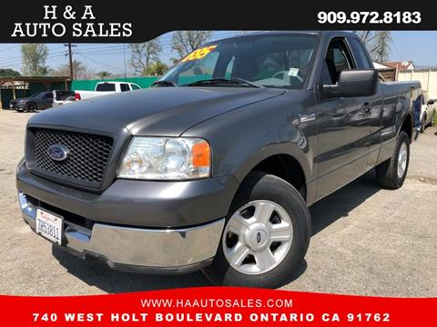 2004 Ford F-150 for sale in Ontario, CA