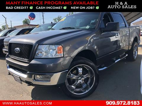 2005 Ford F-150 for sale in Ontario, CA