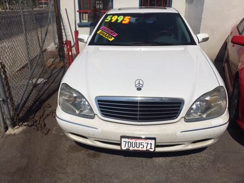 2000 Mercedes-Benz S-Class for sale in Fresno, CA