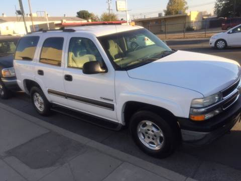 2003 Chevrolet Tahoe for sale in Fresno, CA